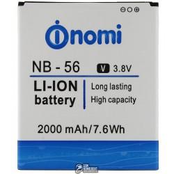 Аккумулятор NB-56 для Nomi i503, original, (Li-ion 3.7V 2000mAh)