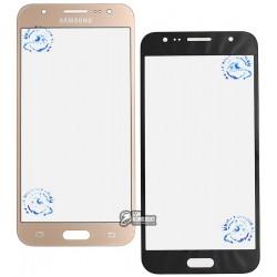Стекло корпуса для Samsung J500F/DS Galaxy J5, J500H/DS Galaxy J5, J500M/DS Galaxy J5, золотистое