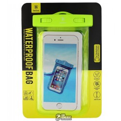 Сумка Baseus Waterproof зеленая (Adapt cellphone for 5.5 inches or below the 5.5 inches)