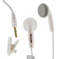 Наушники Awei ES10, белые
