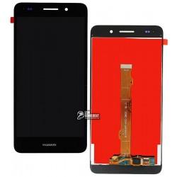 Дисплей для Huawei Y6 II, черный, с сенсорным экраном (дисплейный модуль)