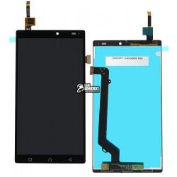 Дисплей для Lenovo A7010 X3 Lite, Vibe K4 Note, черный, с сенсорным экраном (дисплейный модуль)