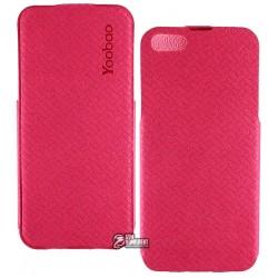 Кожаный Чехол Yoobao Fashion для iPhone 5/5S розовый