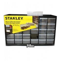 Органайзер STANLEY пластмасовый вертикальный на 30 выдвижных отделений