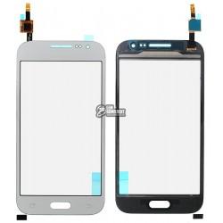 Тачскрин для Samsung G360H Galaxy Core Prime, серебристый