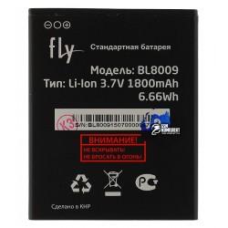 Аккумулятор (акб) BL8009 для Fly FS451, (Li-ion 3.7V 1800mAh), original, 60.01.0641