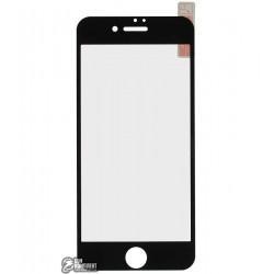Закаленное защитное стекло для Apple iPhone 7, 0,26 мм 9H, черное