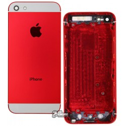 Корпус для Apple iPhone 5, красный