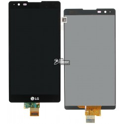 Дисплей для LG X Power K220DS, черный, с сенсорным экраном (дисплейный модуль)