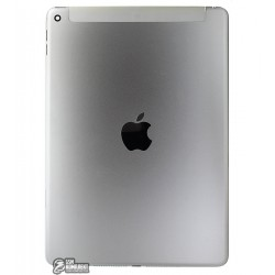 Задняя крышка для планшета Apple iPad Air 2, серебристая, (версия 3G)