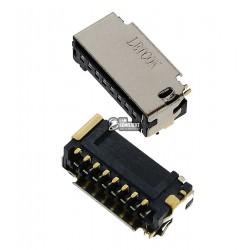 Коннектор SIM-карты для Xiaomi Redmi Note