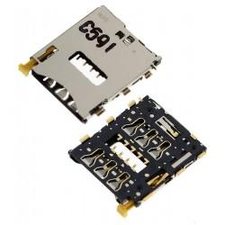 Коннектор SIM-карты для Sony D5803 Xperia Z3 Compact Mini, D5833 Xperia Z3 Compact Mini, D6603 Xperia Z3, D6633 Xperia Z3 DS, D6