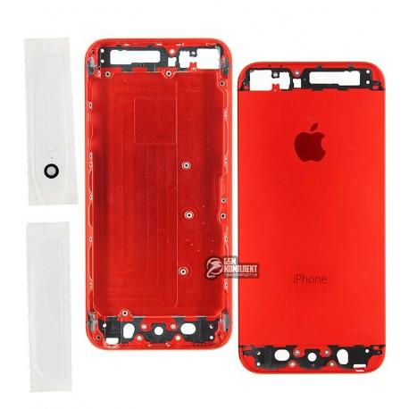 Корпус для Apple iPhone 5S, красный
