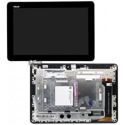 Дисплей для планшета Asus MeMO Pad 10 ME102A, черный, с сенсорным экраном (дисплейный модуль),с рамкой, #B101EAN01.1/MCF-101-099