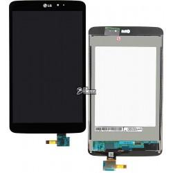 Дисплей для планшета LG G Pad 8.3 V500, черный, с сенсорным экраном (дисплейный модуль)