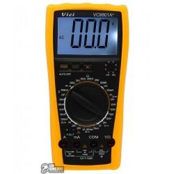 Мультиметр цифровой VC9801A+ с функцией автовыключения и подсветкой