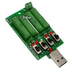 Нагрузка USB 3.7-13 В регулируемый ток: 0.15-3.00 A 15 Вт
