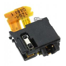 Коннектор handsfree для Sony C6602 L36h Xperia Z, C6603 L36i Xperia Z, C6606 L36a Xperia Z, со шлейфом