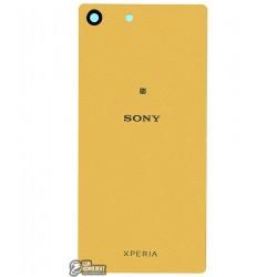 Задняя панель корпуса для Sony E5603 Xperia M5, E5606 Xperia M5, E5633 Xperia M5, E5653 Xperia M5, E5663 Xperia M5 Dual, золотис