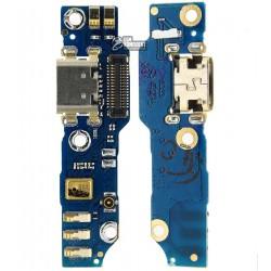 Шлейф для Meizu M1 Note, коннектора зарядки, с компонентами, плата зарядки