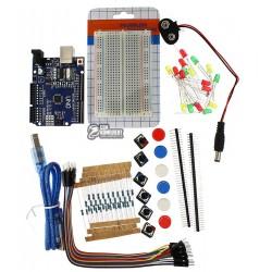 Набор ARDUINO STARTER KIT MINI (Arduino UNO, кабель, макетная плата, перемычки, кнопки, электронные компоненты)