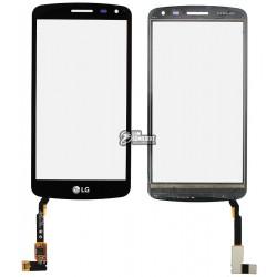 Тачскрин для LG K5 X220 Dual Sim, черный