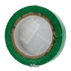 Изолента зеленая PVC1510GR BEMKO 15мм x 10м