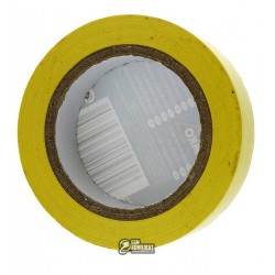 Изолента желтая PVC1510YE BEMKO 15мм x 10м