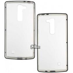 Чехол - бампер TPU+PC для LG G4 stylus черный