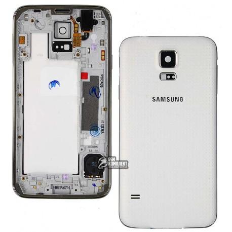 Корпус для Samsung G900H Galaxy S5, белый
