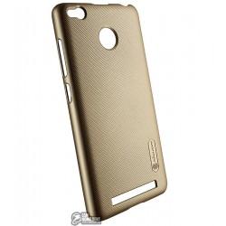 Панель чехол Nillkin Frosted для Xiaomi Redmi 3 Pro, золото