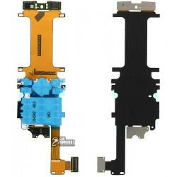 Шлейф для Nokia 8800 Arte, с компонентами
