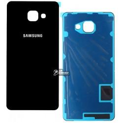 Задняя панель корпуса для Samsung A710F Galaxy A7 (2016), черная