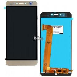 Дисплей для Prestigio MultiPhone 3531 Muze E3, MultiPhone 7530 Muze A7, MultiPhone PSP 3530 Muze D3, золотистый, с сенсорным экр