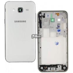 Корпус для Samsung J500H/DS Galaxy J5, белый