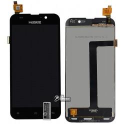 Дисплей для Zopo C2, C3, ZP980 Scorpio, черный, с сенсорным экраном (дисплейный модуль),#LT050ANRP14A130607-02/BL-050ALP120511