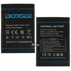 Аккумулятор (акб) для Doogee X5 Max, (Li-ion 3.7V 3800mAh)