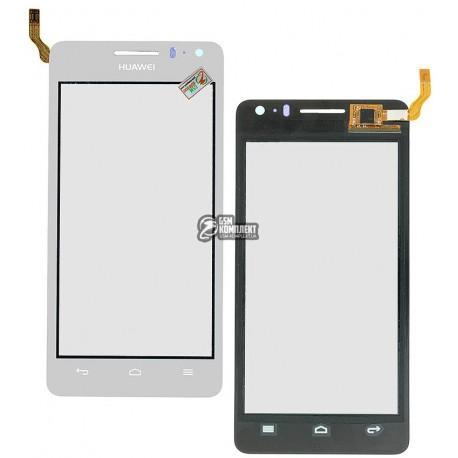 Тачскрин для Huawei U8950 Honor+ Ascend G600, U9508 Honor 2, белый, #CT1095FPC-A5-E