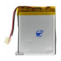 Аккумулятор универсальный (акб), для телефона, планшета, GPS, 62 мм, 52 мм, 3,8 мм, Li-ion, 3,7 В, 1300 мАч