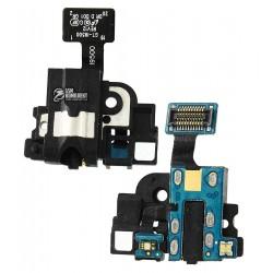 Коннектор handsfree для Samsung I9500 Galaxy S4, I9505 Galaxy S4, со шлейфом