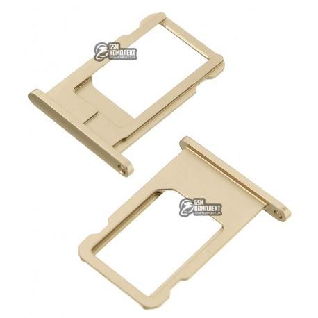 Держатель SIM-карты для Apple iPhone 6, золотистый