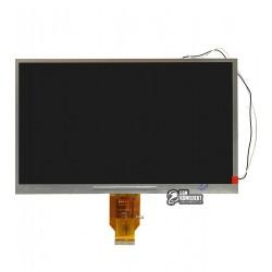 Дисплей для планшета China-Tablet PC 10,1, (235*143 мм), 40 pin, 10,1, (1024*600), #H-H10118FPC-C1/H-H101D-27C/WY101ML285HS18A/H