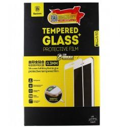 Закаленное защитное стекло Baseus для Iphone 6/6S, 0,26 мм 9H, черное