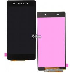 Дисплей для Sony D6502 Xperia Z2, D6503 Xperia Z2, черный, с сенсорным экраном (дисплейный модуль),high-copy