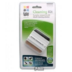 Чистящий набор для оргтехники ColorWay CW-4109 щетка со встроенным спреем