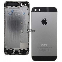 Корпус для Apple iPhone 5S, high-copy, черный