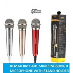 Микрофон Remax REMAX Sing Song K Microphone RMK-K01, серебро