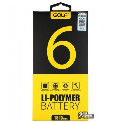 Аккумулятор Golf для iPhone 6 (Li-polymer, 1810мАч)