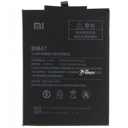 Аккумулятор BM47 для Xiaomi Redmi 3, Redmi 3S, Redmi 3X, Redmi 4X, Li-Polymer, 3,85 B, 4000 мАч