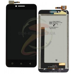 Дисплей для Lenovo A2020 Vibe C, черный, с сенсорным экраном (дисплейный модуль)